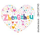 zhengzhou heart shaped type... | Shutterstock .eps vector #284719745