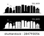 Tel Aviv  Israel Skyline  ...
