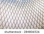 metal ceiling  metal texture... | Shutterstock . vector #284806526