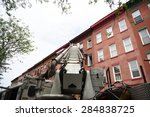 new york city   june 6 2015 ... | Shutterstock . vector #284838725