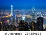 hong kong  china   january 23   ... | Shutterstock . vector #284854838