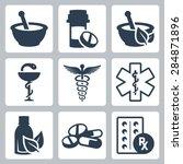 pharmacy  medicine vector icon