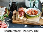 spain appetizer | Shutterstock . vector #284892182