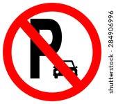 parking sign | Shutterstock . vector #284906996