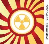 yellow icon with image of radio ...