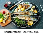 Grilled Mackerel Fish With...