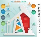 oil industry info graphic... | Shutterstock .eps vector #284977112