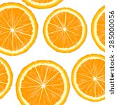 orange slices seamless