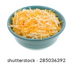 a small bowl filled with... | Shutterstock . vector #285036392