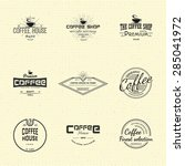 Coffee Badges Logos And Labels...