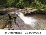 saphanhin waterfall thailand. | Shutterstock . vector #285049085