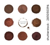Collection Of Chocolate Round...