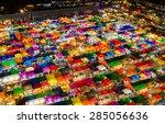 beauty of vintage flea market... | Shutterstock . vector #285056636