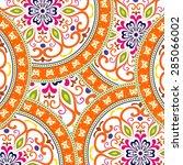 abstract ethnic ornate... | Shutterstock .eps vector #285066002