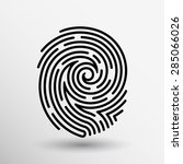Fingerprint Icon Finger Print...