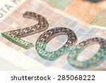 Detail Of 200 Kuna Banknote...