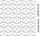vector seamless pattern. modern ... | Shutterstock .eps vector #285074135