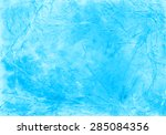 watercolor crumpled and... | Shutterstock .eps vector #285084356