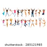over white team victory  | Shutterstock . vector #285121985