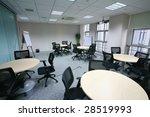 view of modern meeting room... | Shutterstock . vector #28519993