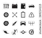 car service icon | Shutterstock .eps vector #285214115