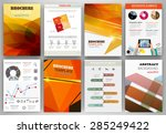 abstract vector backgrounds and ... | Shutterstock .eps vector #285249422