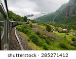 Train At Famous Flam Railway ...