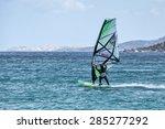 porto pollo  sardinia italy  ... | Shutterstock . vector #285277292