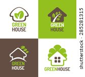 concept of eco friendly green... | Shutterstock .eps vector #285281315