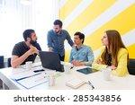 start up team   Shutterstock . vector #285343856