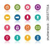 website icons | Shutterstock .eps vector #285377516