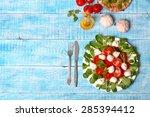 caprese salad | Shutterstock . vector #285394412
