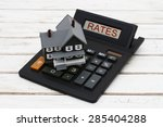 calculating your  interest... | Shutterstock . vector #285404288