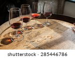 glass of wine | Shutterstock . vector #285446786