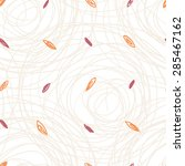 seamless abstract pattern with... | Shutterstock .eps vector #285467162