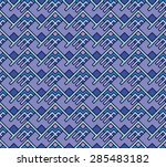 seamless abstract geometric... | Shutterstock .eps vector #285483182