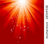 magic light. vector. | Shutterstock .eps vector #28549538