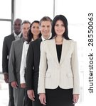 female business leader with... | Shutterstock . vector #28550063