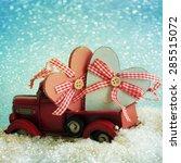 christmas decoration | Shutterstock . vector #285515072