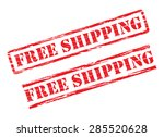 rubber stamp design free...   Shutterstock .eps vector #285520628