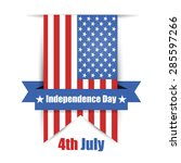 Usa Independence Day Vector...