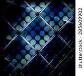 dark dot background | Shutterstock . vector #285609902