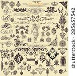 design elements | Shutterstock .eps vector #285657542