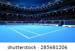 Whole Tennis Court From The...