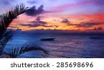 Panorama Seascape Purple ...