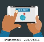flat design modern concept with ...