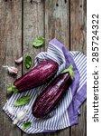 Purple Eggplant  Aubergine  ...