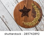 crescent and star | Shutterstock . vector #285742892