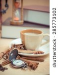 hot coffee watches | Shutterstock . vector #285773102