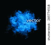Vector Illustration Of Blue...